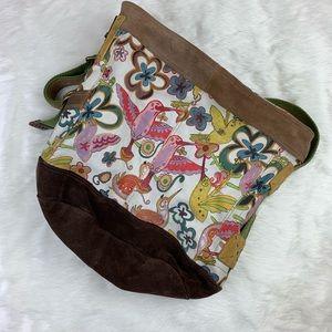 Lucky Brand Hobo Crossbody Bag